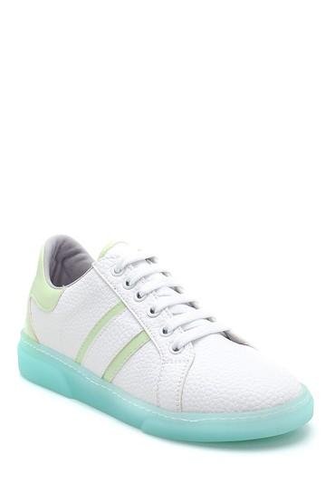 Beyaz Kadın Sneaker 5638277366