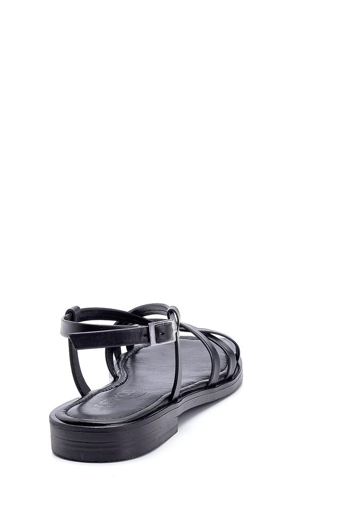 5638262019 Kadın Deri Sandalet