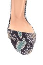 5638297480 Kadın Deri Topuklu Sandalet