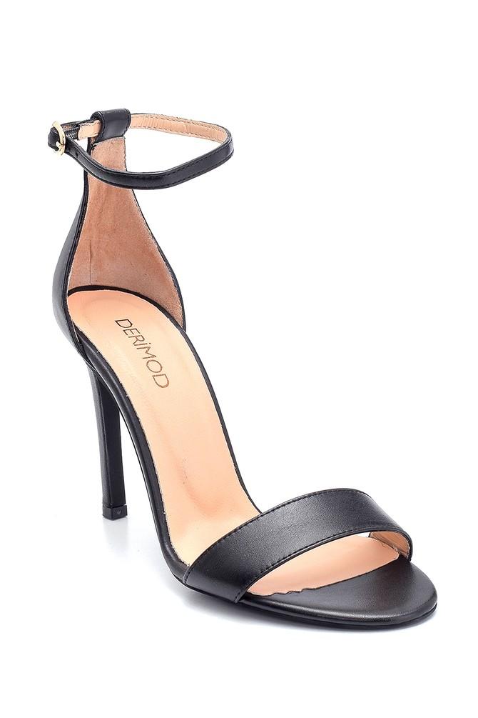5638297499 Kadın Casual Topuklu Deri Sandalet