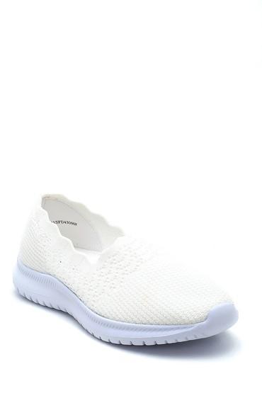 Beyaz Kadın Çorap Ayakkabı 5638266424
