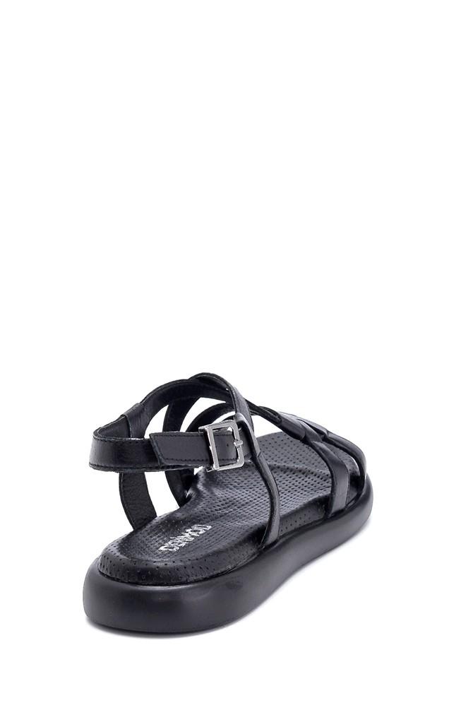 5638268215 Kadın Deri Sandalet