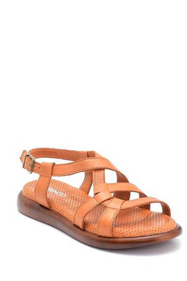 Taba Kadın Deri Sandalet 5638268217