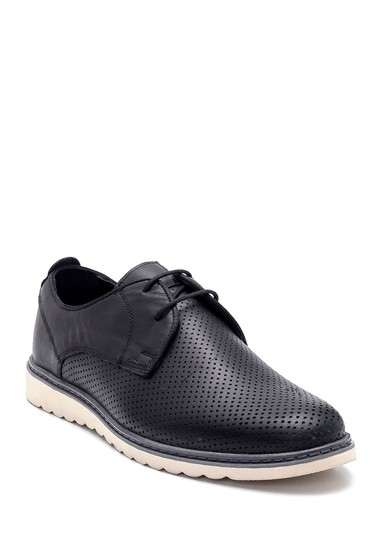 Siyah Erkek Deri Casual Ayakkabı 5638252540