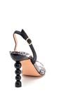 5638258566 Kadın Misket Topuklu Sandalet
