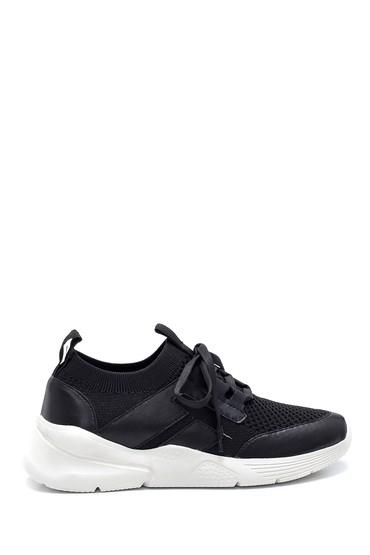 Siyah Kadın Çorap Sneaker 5638280394