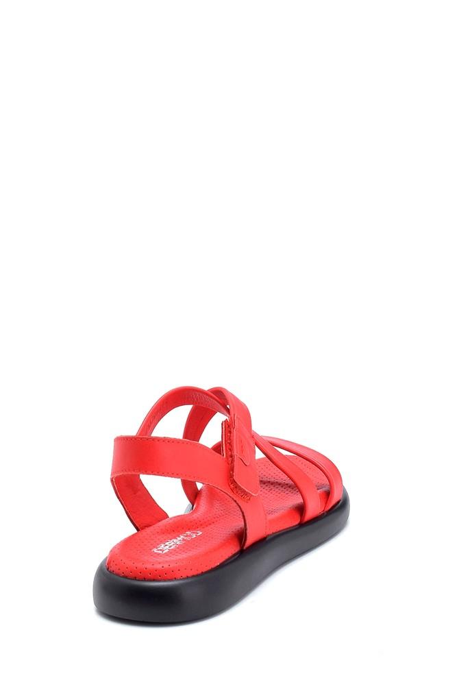 5638268271 Kadın Deri Sandalet
