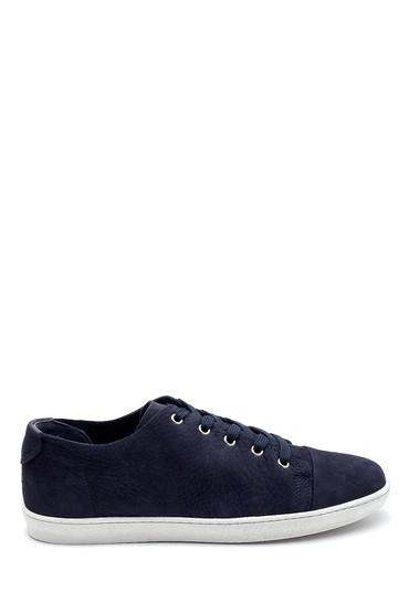 Lacivert Erkek Nubuk Sneaker 5638247613