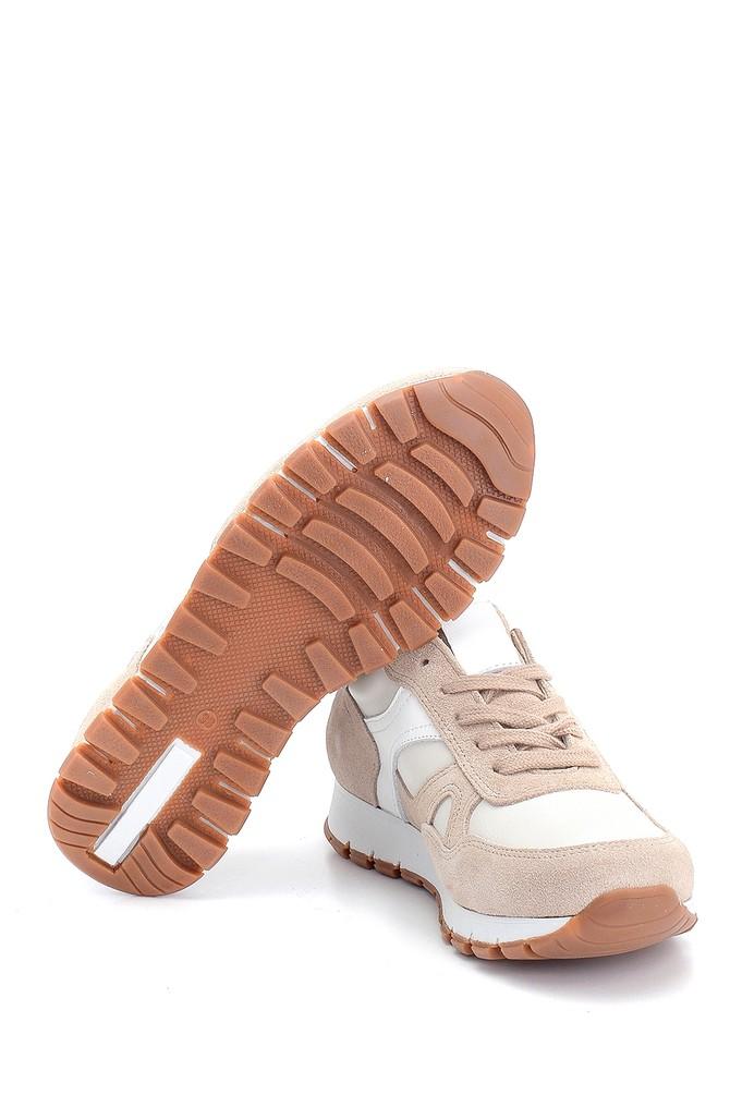 5638272945 Kadın Süet Deri Sneaker