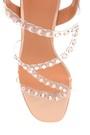 5638263499 Kadın Şeffaf Kalın Topuklu Sandalet