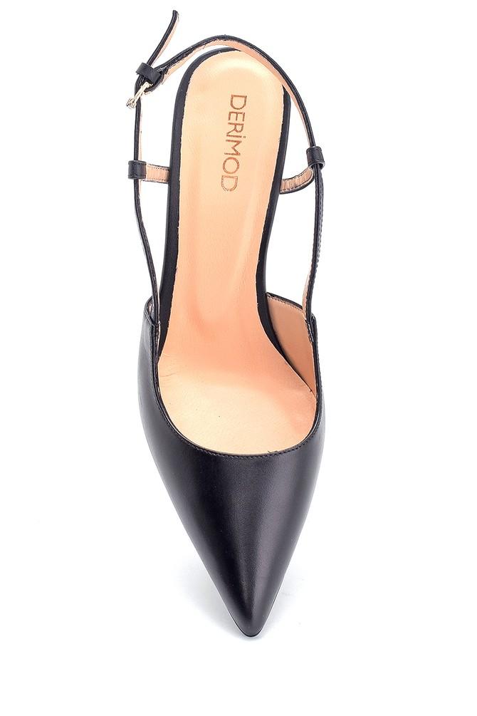 5638297616 Kadın Casual Topuklu Deri Ayakkabı