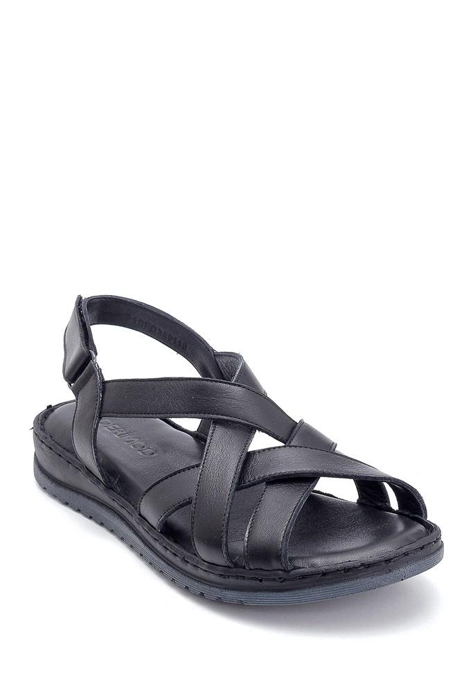 5638273700 Kadın Casual Deri Sandalet