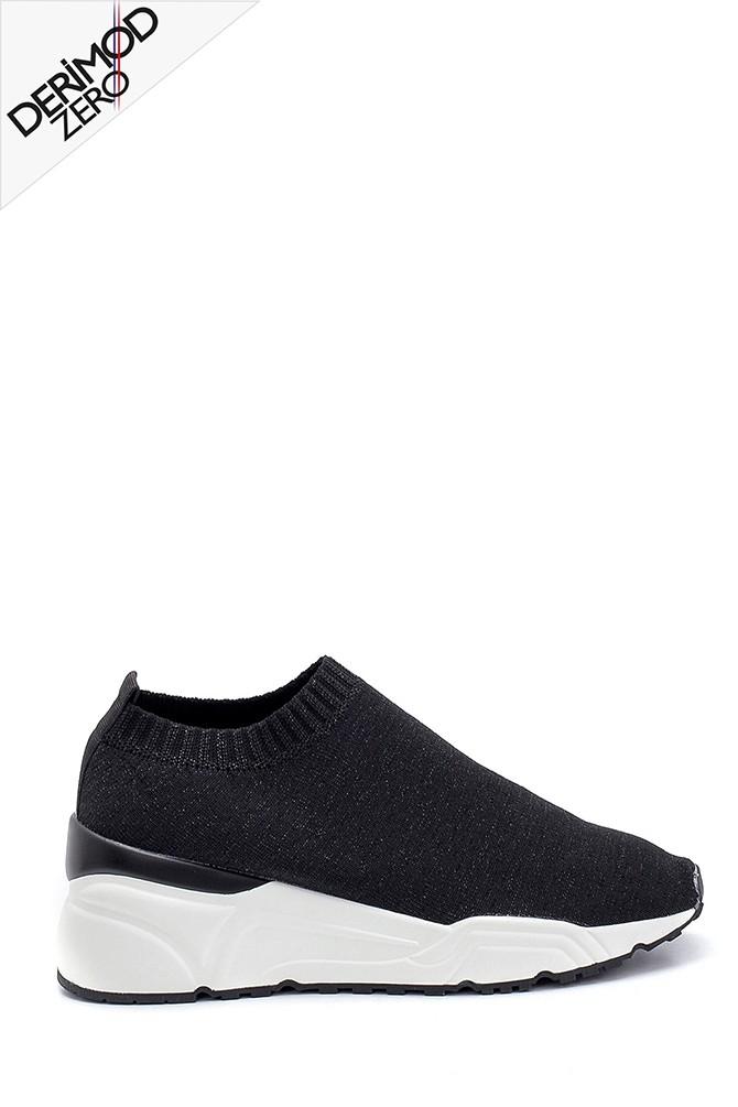 Siyah Kadın Çorap Sneaker 5638256046