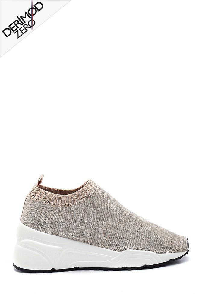 Bej Kadın Çorap Sneaker 5638256047