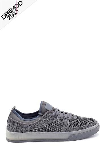 Gri Erkek Çorap Sneaker 5638259461