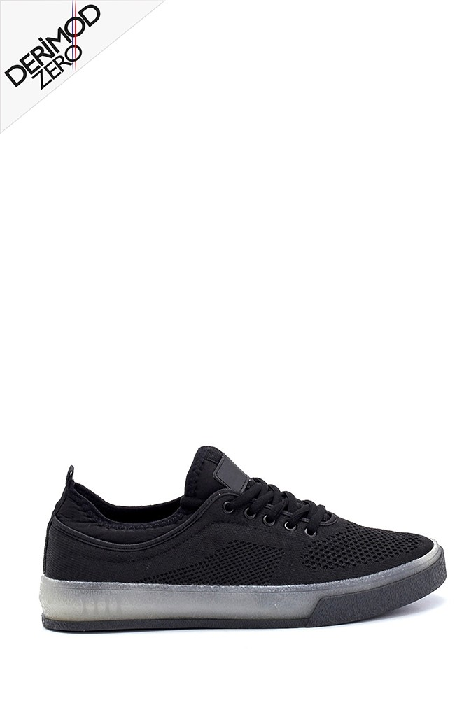 Siyah Erkek Çorap Sneaker 5638259469