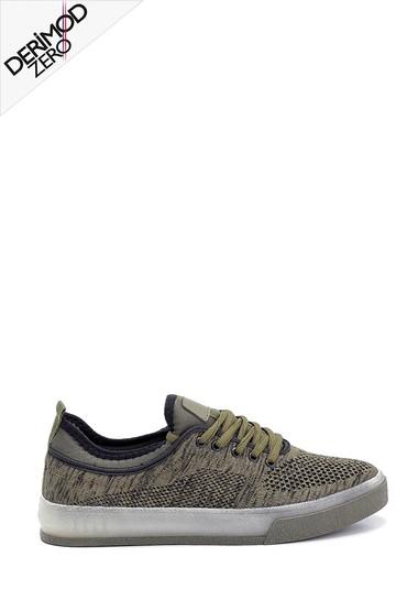 Haki Erkek Çorap Sneaker 5638259462