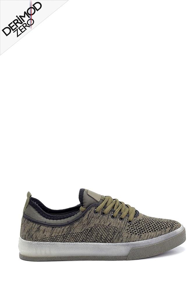 Haki Erkek Çorap Sneaker 5638259485