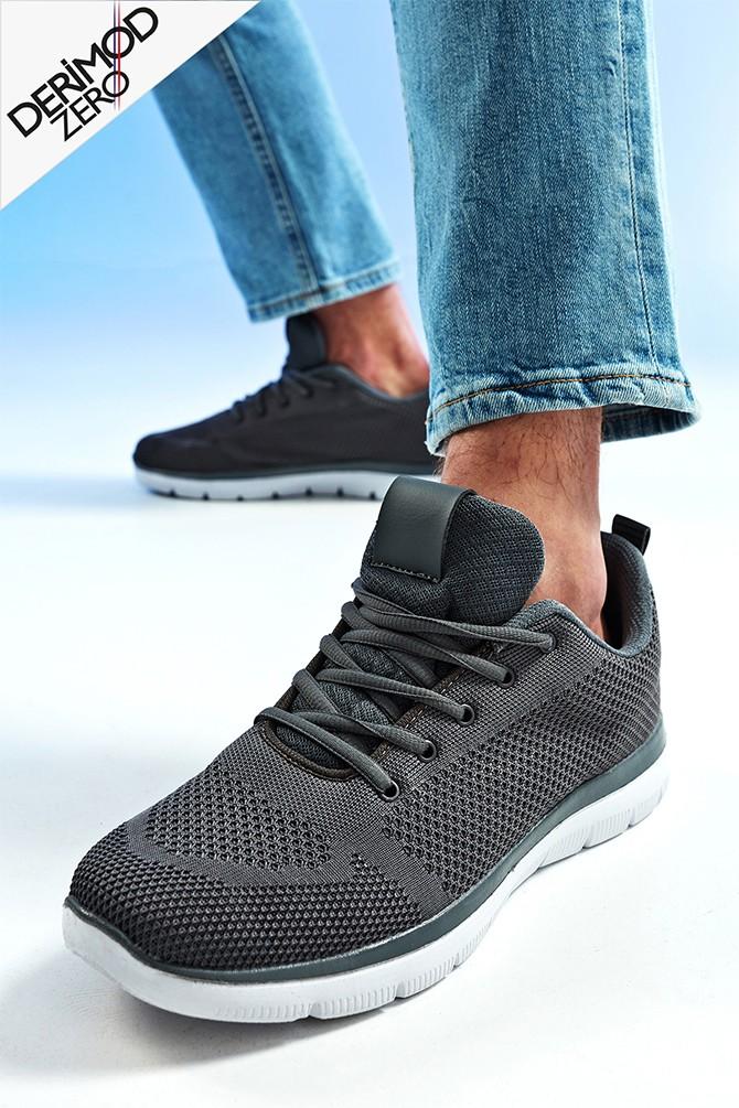 Gri Erkek Sneaker 5638259533