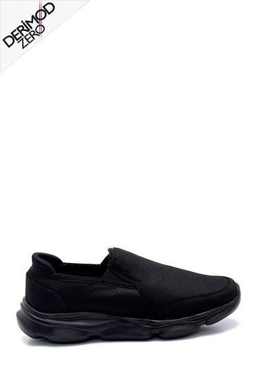 Siyah Erkek Konfor Sneaker 5638259542
