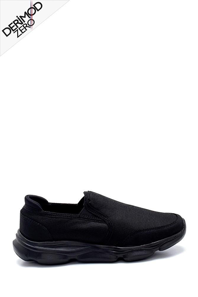 Siyah Erkek Konfor Sneaker 5638259558