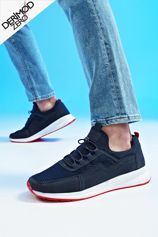 Lacivert Erkek Sneaker 5638259575