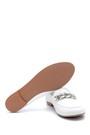 5638270560 Kadın Zincir Detaylı Deri Loafer