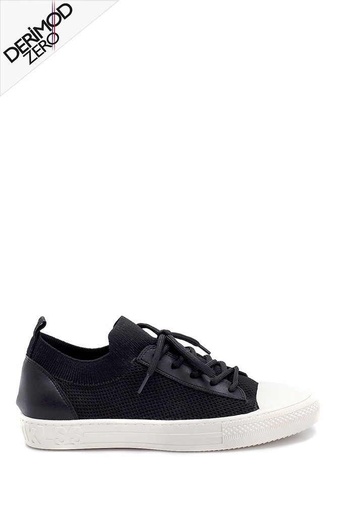 Siyah Kadın Çorap Sneaker 5638273497