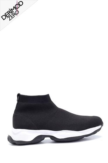 Siyah Erkek Boğazlı Çorap Sneaker 5638276830