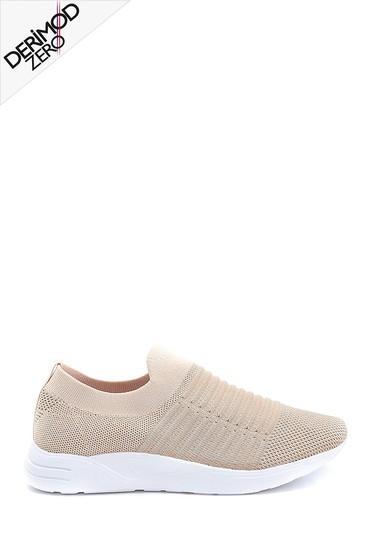 Bej Kadın Çorap Ayakkabı 5638255981