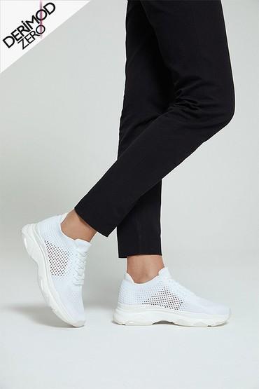 Beyaz Kadın Çorap Sneaker 5638256028