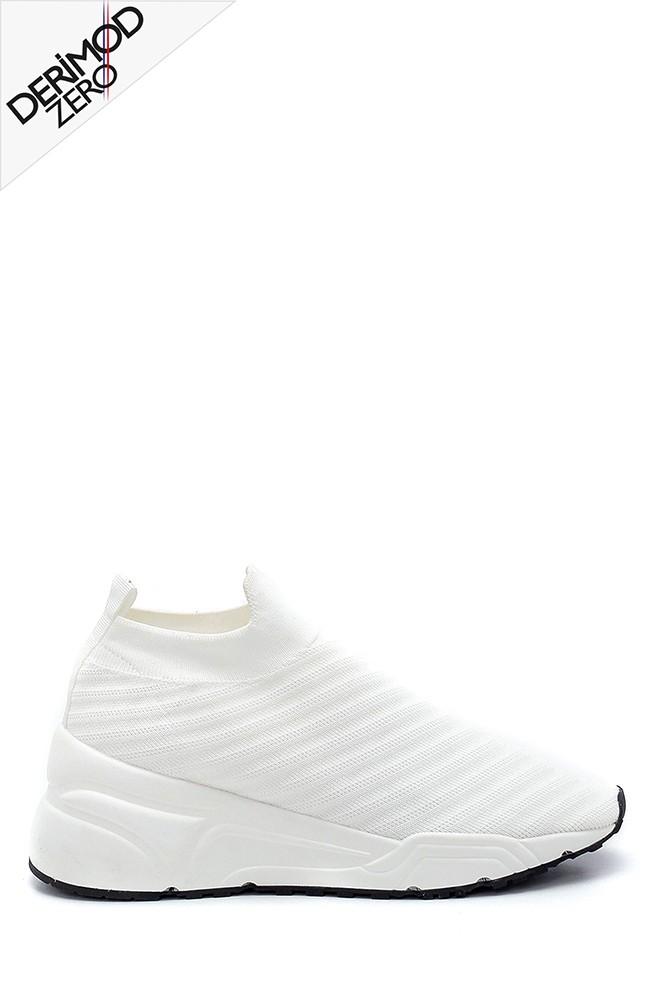 Beyaz Kadın Çorap Sneaker 5638256078