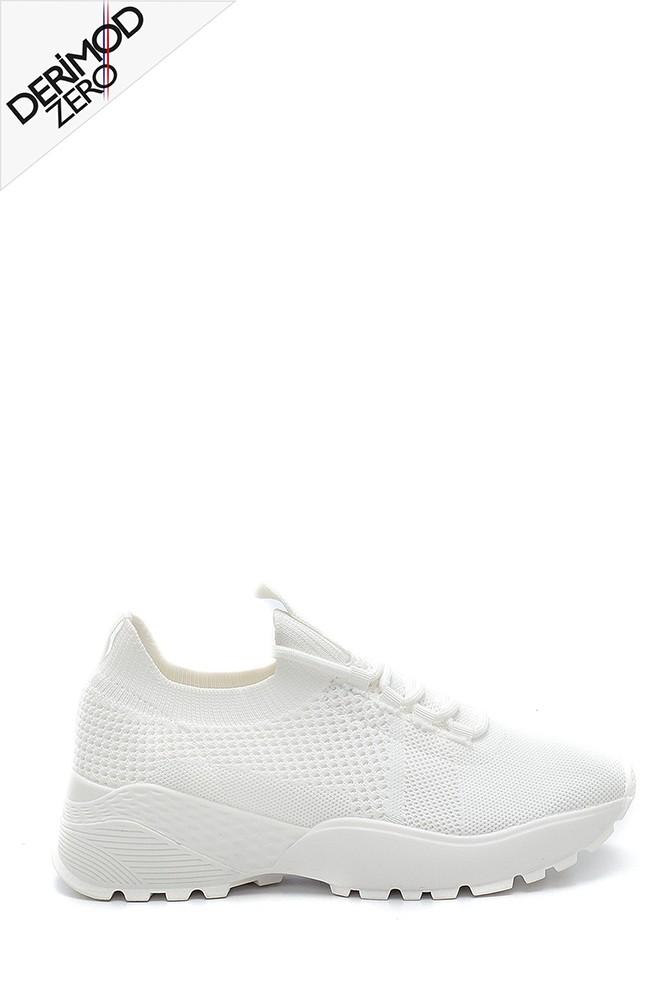 Beyaz Kadın Çorap Sneaker 5638257615