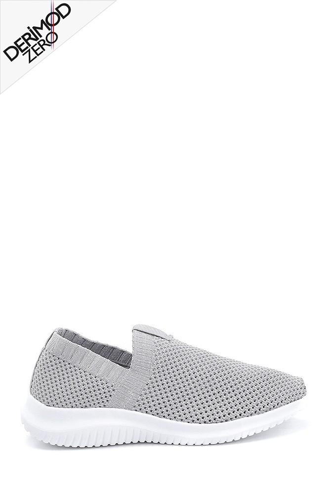 Gri Kadın Çorap Sneaker 5638266471