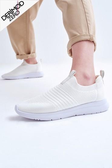 Beyaz Kadın Çorap Sneaker 5638266490