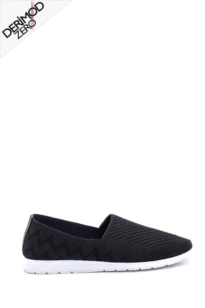 Siyah Kadın Çorap Ayakkabı 5638277189
