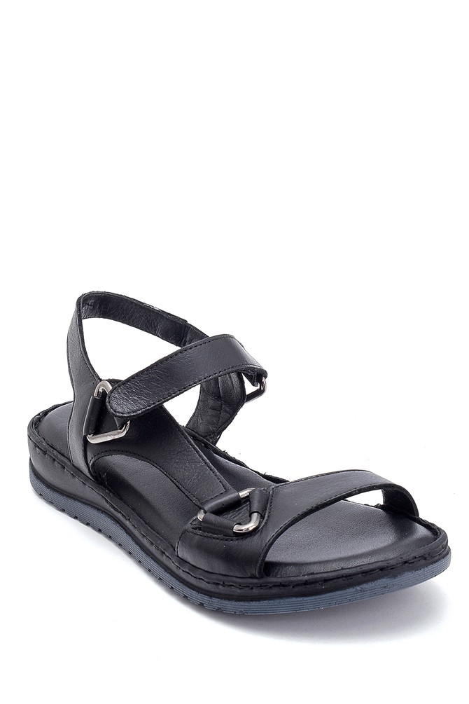 5638273795 Kadın Comfort Deri Sandalet