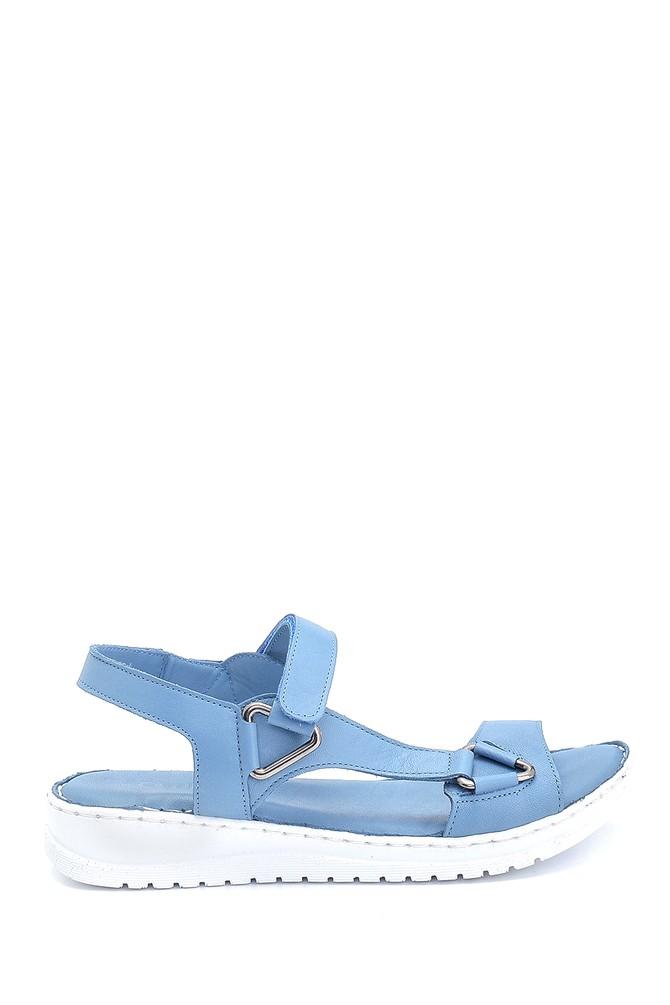 Mavi Kadın Comfort Deri Sandalet 5638273793