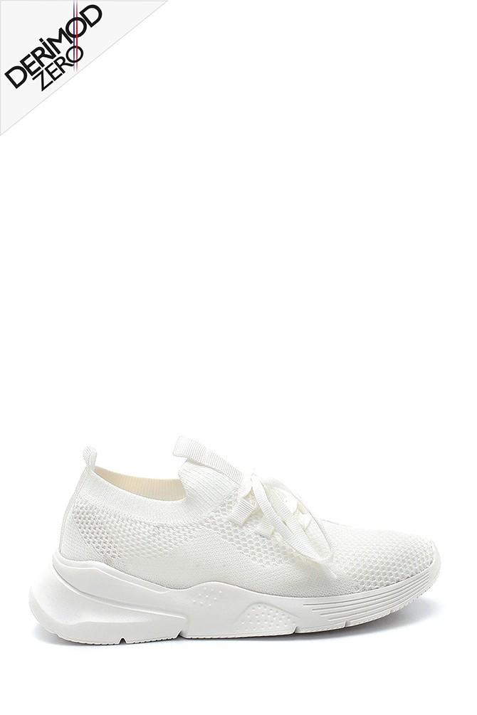 Beyaz Kadın Çorap Sneaker 5638280578
