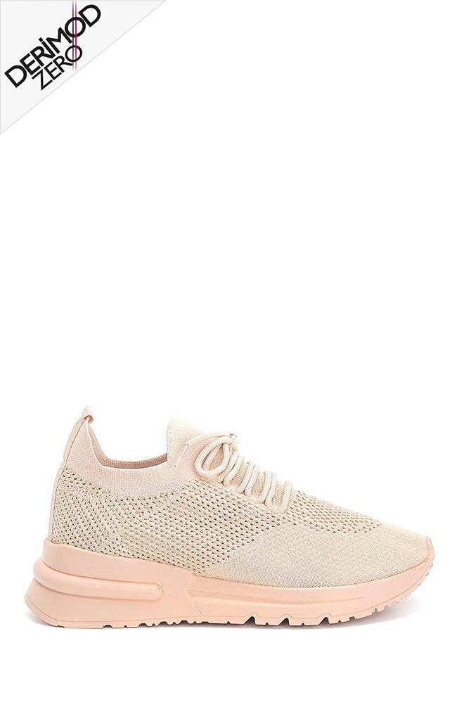 Bej Kadın Çorap Sneaker 5638285392