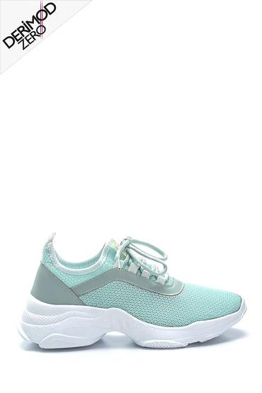 Yeşil Kadın Çorap Sneaker 5638291635