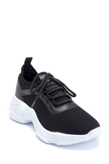Siyah Kadın Çorap Sneaker 5638291637