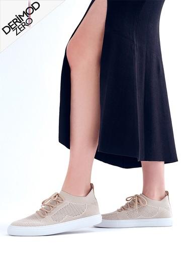 Bej Kadın Sneaker 5638291677