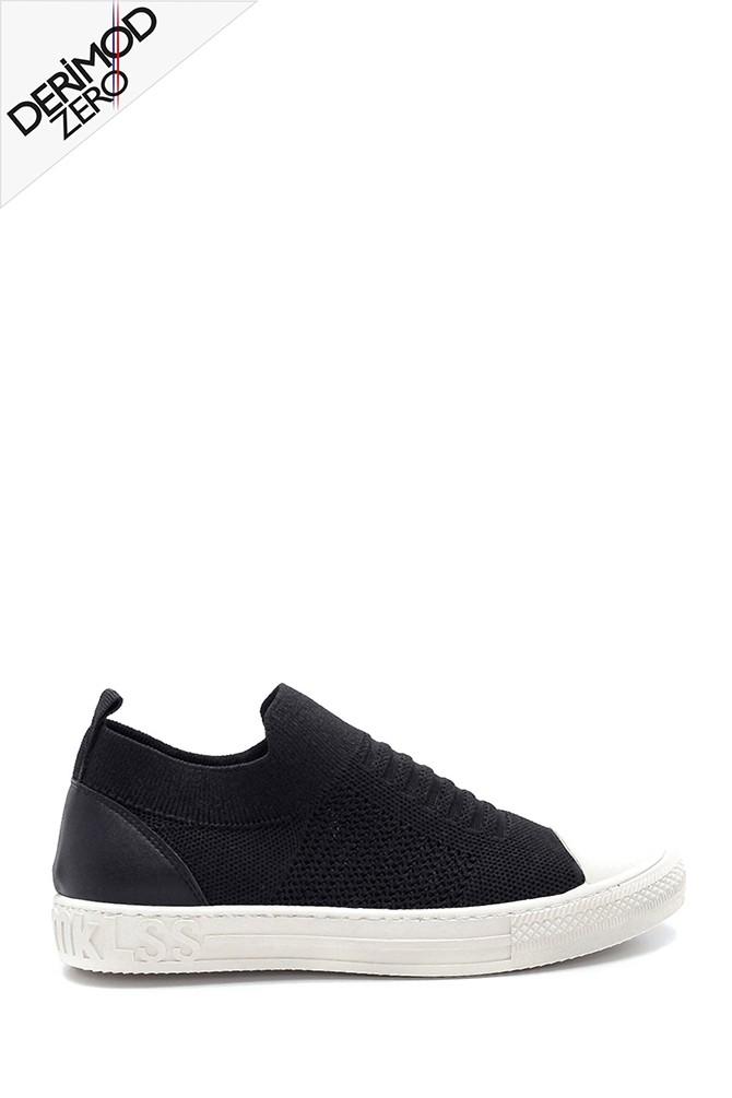 Siyah Kadın Çorap Sneaker 5638291717