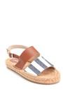 5638289267 Kadın Hasır Tabanlı Sandalet