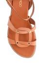 5638297661 Kadın Casual Deri Sandalet