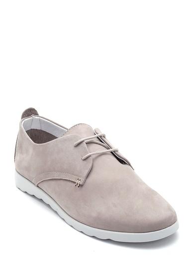 Vizon Kadın Deri Oxford Ayakkabı 5638298079