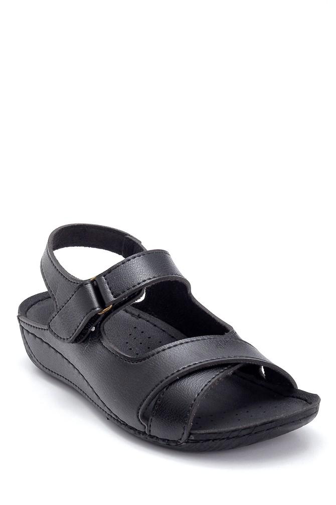 5638299645 Kadın Dolgu Topuk Casual Sandalet