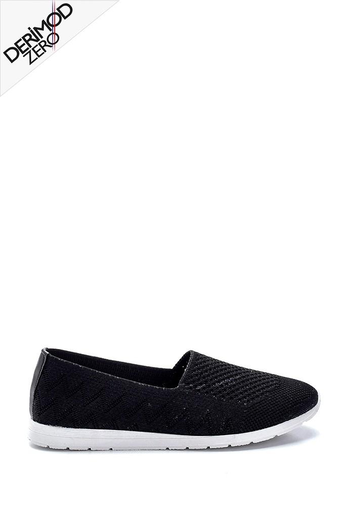 Siyah Kadın Çorap Ayakkabı 5638304367