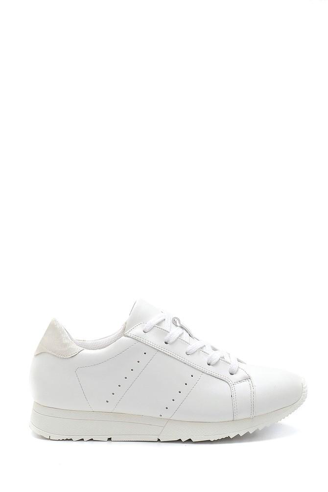 Beyaz Kadın Sneaker 5638304888